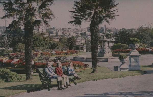 Albert Park, Auckland, 1915 (photo)
