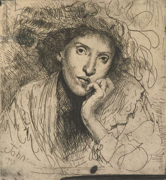 The Jewess, 1903 (etching)