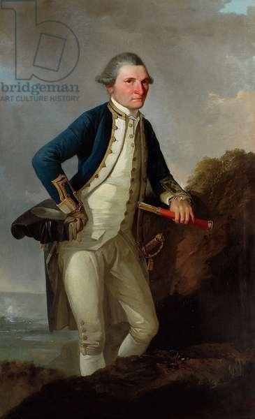 Portrait of Captain James Cook, c.1780 (oil on canvas)