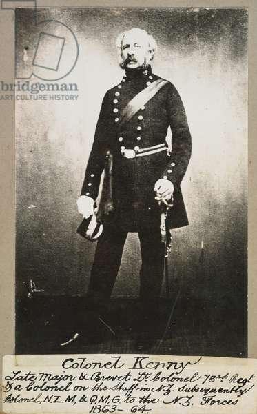 Colonel W. H. Kenny, c.1865 (gelatin silver print)