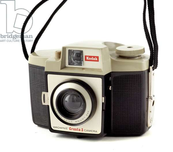 Camera, Eastman Kodak Company, c.1960 (metal, plastic & glass)