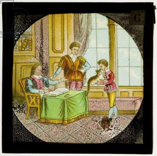 The Tale of Dick Whittington, c.1900 (colour slide)