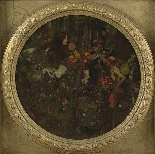Goblin Market, 1911 (oil on canvas)