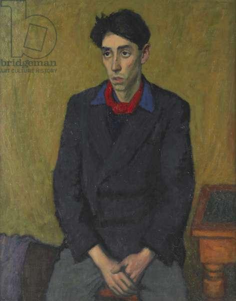 Portrait of John Minton, c.1949 (oil on canvas)
