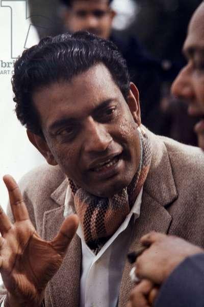 Satyajit Ray, India, 1960s (photo)