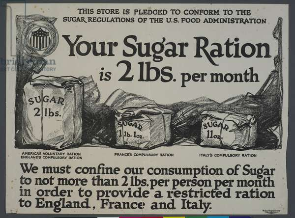 'Your Sugar Ration' (litho)