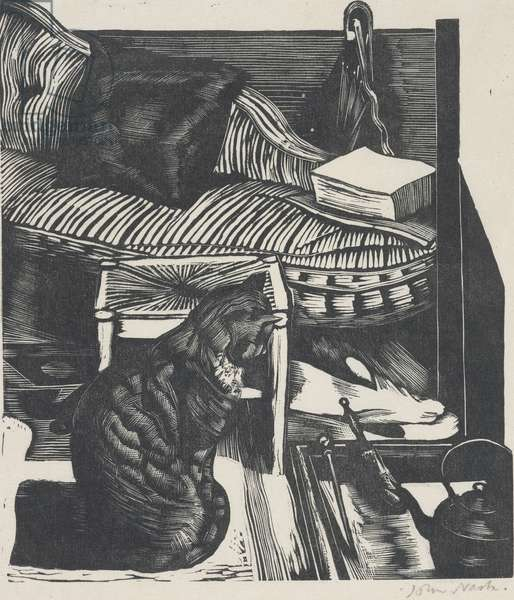 Common objects (wood engraving)