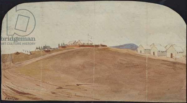Te Papa, Tauranga, 1865 (w/c on paper)