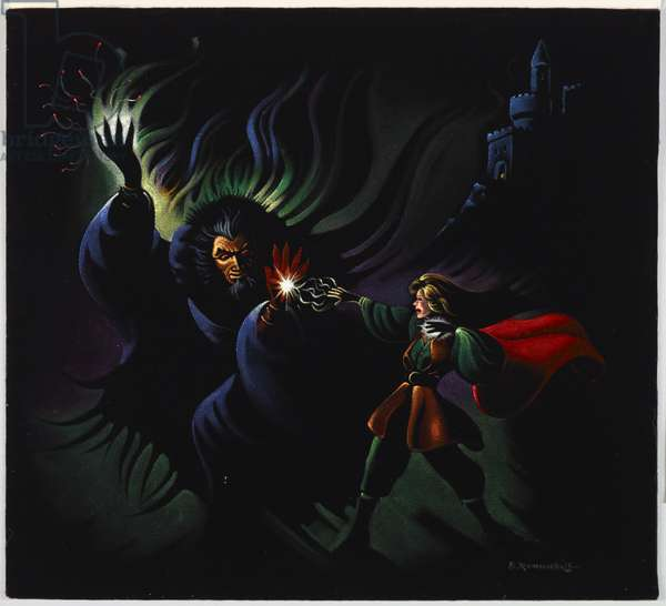 Sorcerer, c.1960-70s (painting)