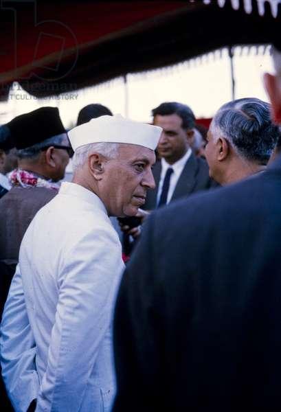 Jawaharlal Nehru, India, early 1960s (photo)
