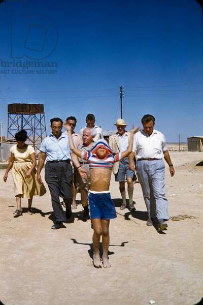 David Ben Gurion, Jerusalem, c.1957 (photo)