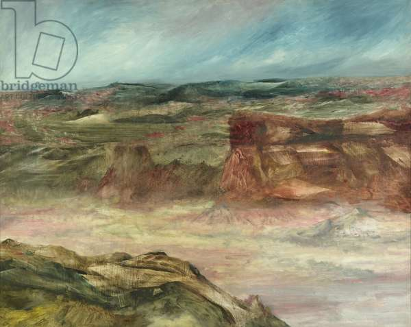 Kimberley Landscape, 1963 (oil on hardboard)