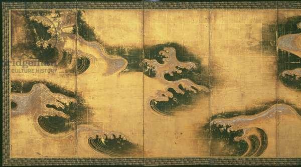 Rough Seas, Rin School, Middle Edo Period