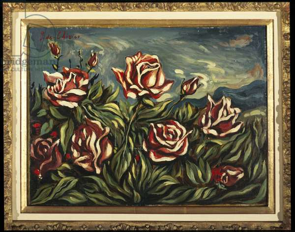 Roses (oil on canvas)