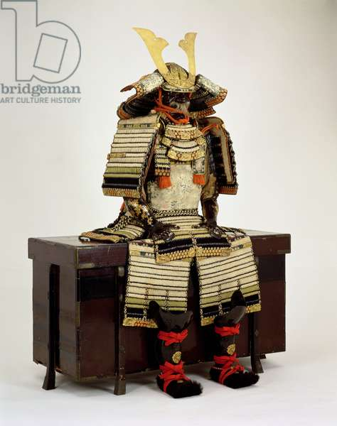 Armour, used by Shimazu Nariakira (1809-58), Late Edo Period