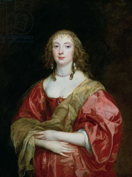 Portrait of Anne Carr (1617-84) Countess of Bedford, 1639 (oil on canvas)
