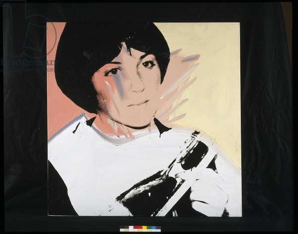 Portrait of Dorothy Hamil (acrylic on canvas)