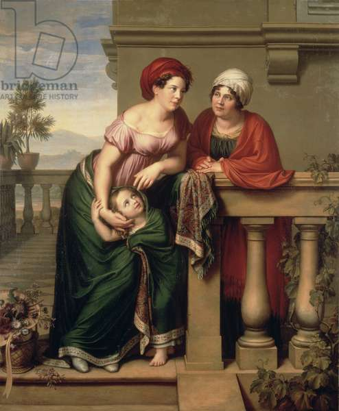 The Actress' Family, 1816 (oil on canvas)