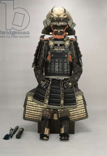 Suit of Armour in Gomaido Gusoku style (mixed media)