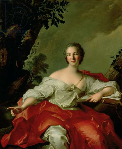 Portrait of Madame Geoffrin (1699-1777) 1738 (oil on canvas)