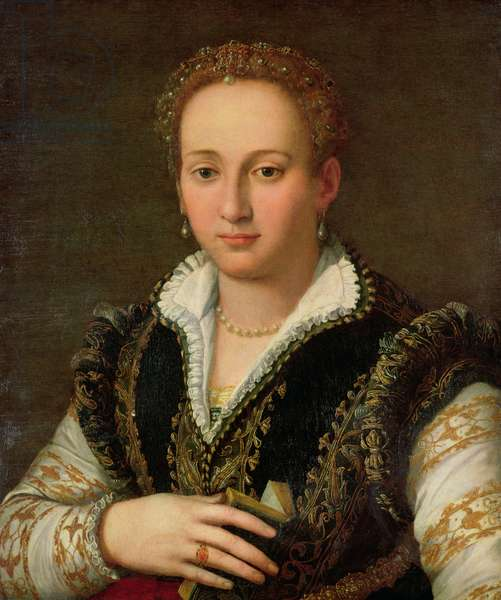 Portrait of Bianca Cappello (d.1582) c.1578-87 (oil on panel)