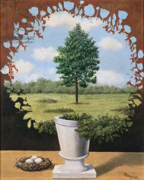 The Resumption, 1965 (oil on canvas)