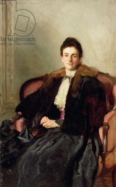 Portrait of Mrs Harold Wilson, 1897 (oil on canvas)
