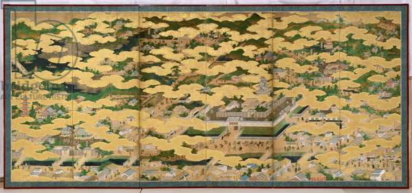 In and Around the City of Kyoto, Kano School (see also 194570)