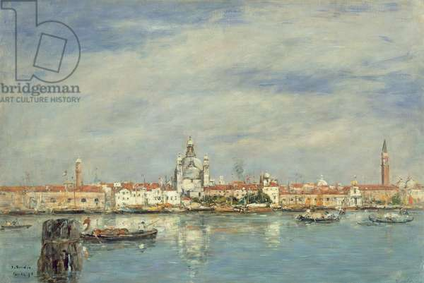 The Grand Canal, Venice, 1895 (oil on canvas)