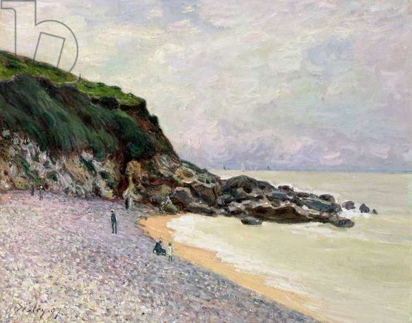 Lady's Cove, Hastings, 1897 (oil on canvas)
