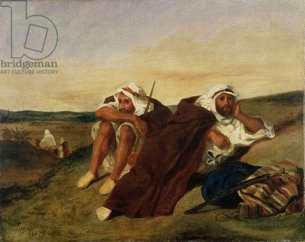 Arabs of Oran, 1834 (oil on canvas)