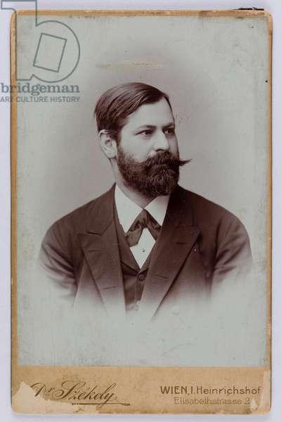 Sigmund Freud, Vienna, 1891 (b/w photo)