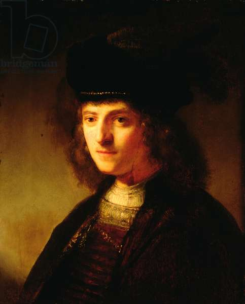 A Young Man in a Feathered Beret, c.1636 (oil on panel)