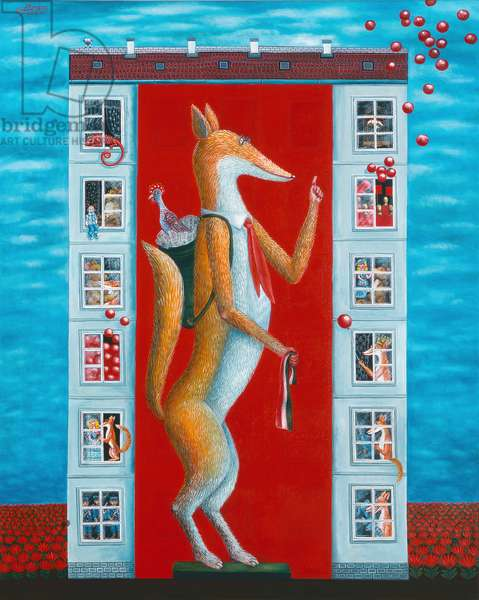 Tales of Aesopus, 2006 (oil on canvas)