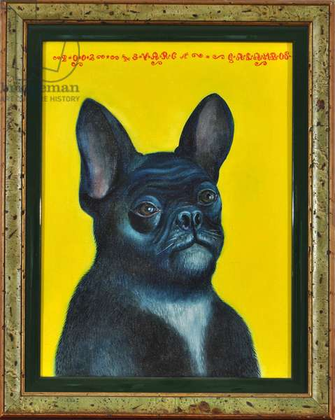 Svarc The Dog II, 2002, (oil on canvas)