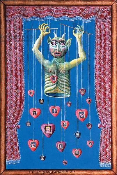 Devil's Theatre, 1972 (oil on canvas)