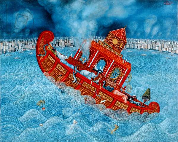 Noah's Barge, 1987