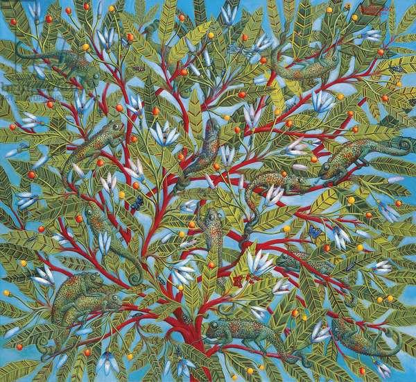 World Tree, 1995 (oil on canvas)