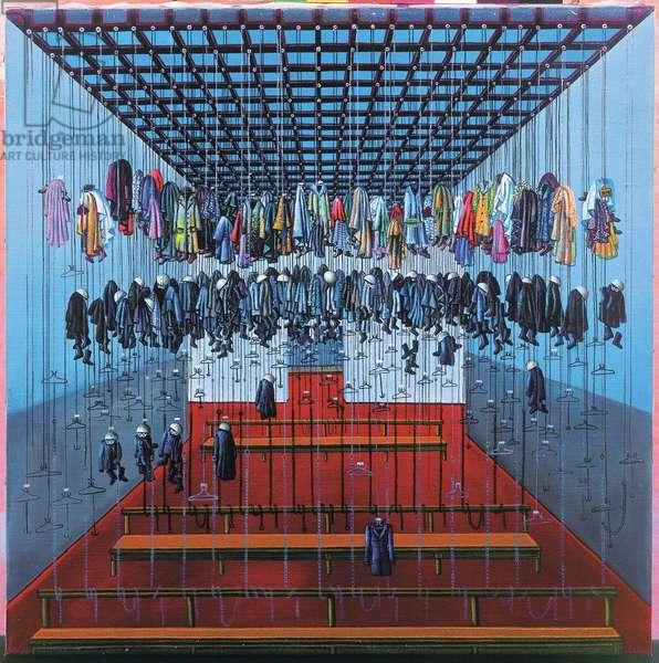 Mine Room, 1981 (oil on canvas)