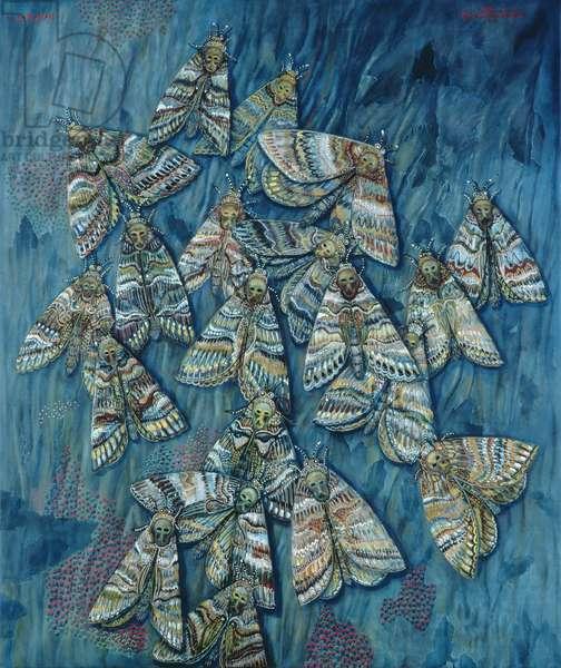 Death's Head Moths, 1996