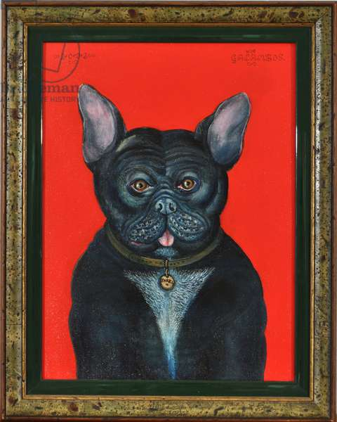 Svarc The Dog I, 2002, (oil on canvas)