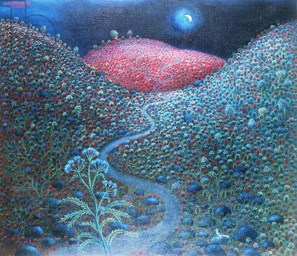 Half Moon, 1988 (oil on canvas)