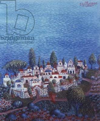 Island, 1988 (oil on canvas)