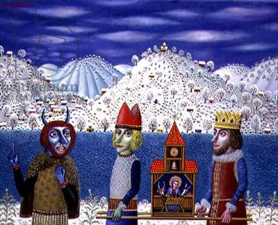 Bethlehem, 1997 (oil on canvas)