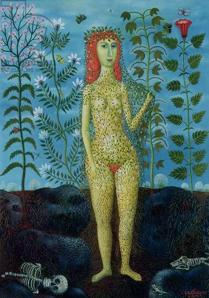 Eve, 1981 (oil on canvas)