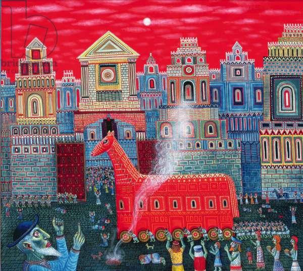 Trojan Horse, 2006 (oil on canvas)