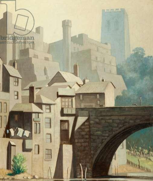 Durham (oil on canvas)