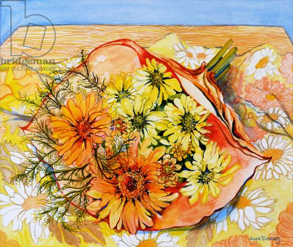 Awaiting Arrangement,2010,watercolour