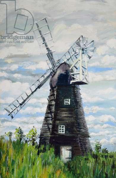 The Windmill,2000, (acrylic)