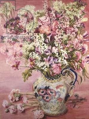 Mama's Flowers (w/c)